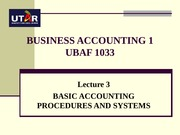 BA1 L3_Basic accounting procedures and systems