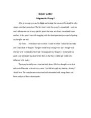 cover letter for revised essay