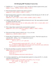 Worksheet 08 Key