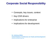Lesson 11Corporate Social Responsibility