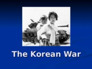 lecture 3 korean war 2012