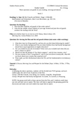 CCCH9005 Study Guide Fall 2015_Week 3