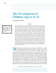 The Development of Children Ages 6 to 14.pdf