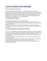 fin 370 week 5 riordan manufacturing