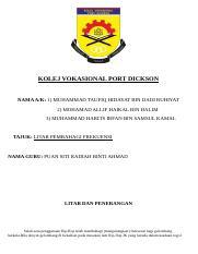 Folio Agama Docx Kolej Vokasional Datuk Seri Mohd Zin 78000 Alor Gajah Melaka Tajuk Kajian Kajian Kes Pengajian Islam Mpu 2312 Pengajian Islam Nama Course Hero