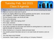 Intro to Business Class 9