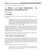 A History of Legal Informatics- An Introduction to the Special Issue - Journal Article.pdf