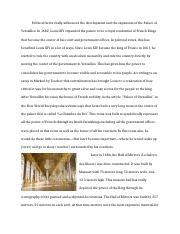 Political Factors – Palace of Versailles.docx
