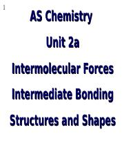 AS U2a Intermolecular Forces and Shapes.ppt