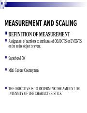 4. Measurement and Scaling.ppt