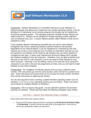 How to install VMWare Workstation 11