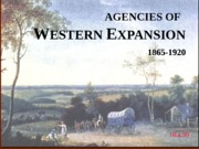 18.a.99--Agencies of expansion