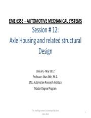 00- handout session 12- axle -differential.pdf