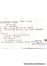 romanesque period notes