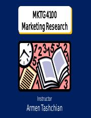 Marketing Research - Chapter 3 PowerPoint