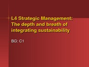 L4 Strategic Management2
