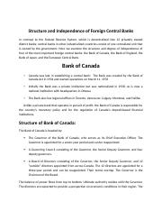 5-Structure of Foreign Central Banks.docx