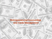 Accounting and Cash Managment