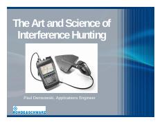 Denisowski - Art and Science of Interference Hunting.pdf