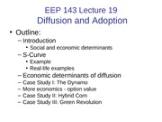 EEP 143 Lecture 19 07