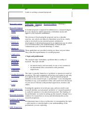 Guide to Writing a Research Proposal  Research Degrees U (1).htm
