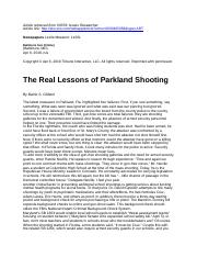The Real Lessons of Parkland Shooting.docx