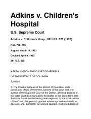 ADKINS v. CHILDREN'S HOSPITAL.pdf