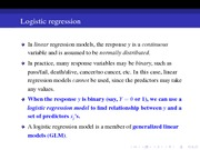 29 Logisitic Regression