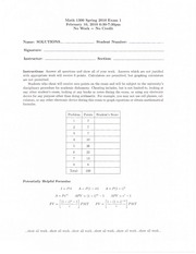 Spring 2010 exam 1 with answers