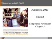 F10-Class-02-Competitive Advantage
