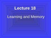 Lecture 18 Learning #3D5EA4