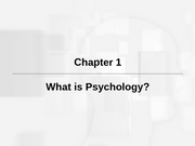 What is psychology part 1