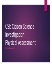 CSIProject A ppt
