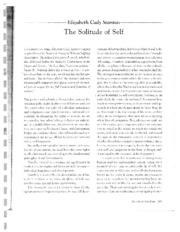 TheSolitudeofSelf
