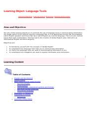 Learning Object 7.2 - Language Tools.pdf
