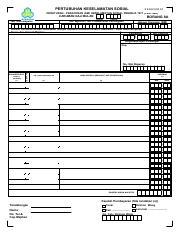 Perkeso Socso Form 8a Borang 8a 2015 2346249101 Pertubuhan