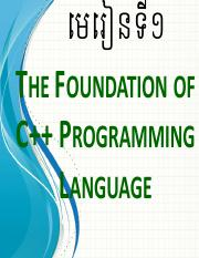 Chapter1 (The Foundation of C++ Pro).pdf
