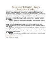 Week 4 Assignment Overview.docx