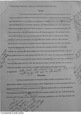 Writing a results and Discussion strategy paper
