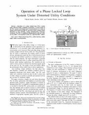 Operation of a Phased Locked Loop System Under Distroted Utility Conditions.pdf