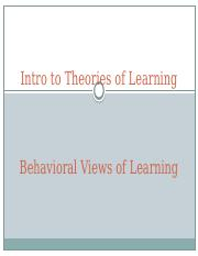 07. Class 7- Behaviorism.pptx