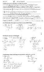 MATH 124 Spring 2014 Midterm 2 Solutions