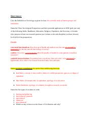 sociology final study guide If you've been studying sociology for a while and need to practice your newly acquired knowledge on newly acquired knowledge of sociology final to study.