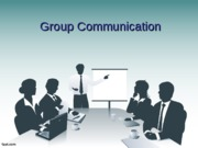 Class Notes - HONORS Group Communication STUDENT VERSION