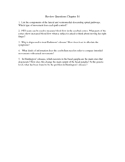 Review Questions Chapter 14