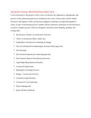 ARCHITECTURAL PROFESSIONAL PRACTICE.docx