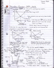 Micro Lecture 6 Notes - Price Ceilings