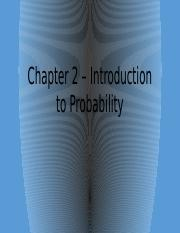 2. Intro to Probability (for BB)