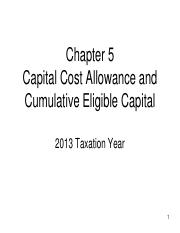 Chapter 05 - PowerPoint - CCA and CEC - 2013