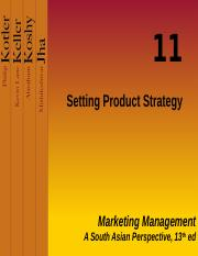 PPT 12  Setting Product Strategy